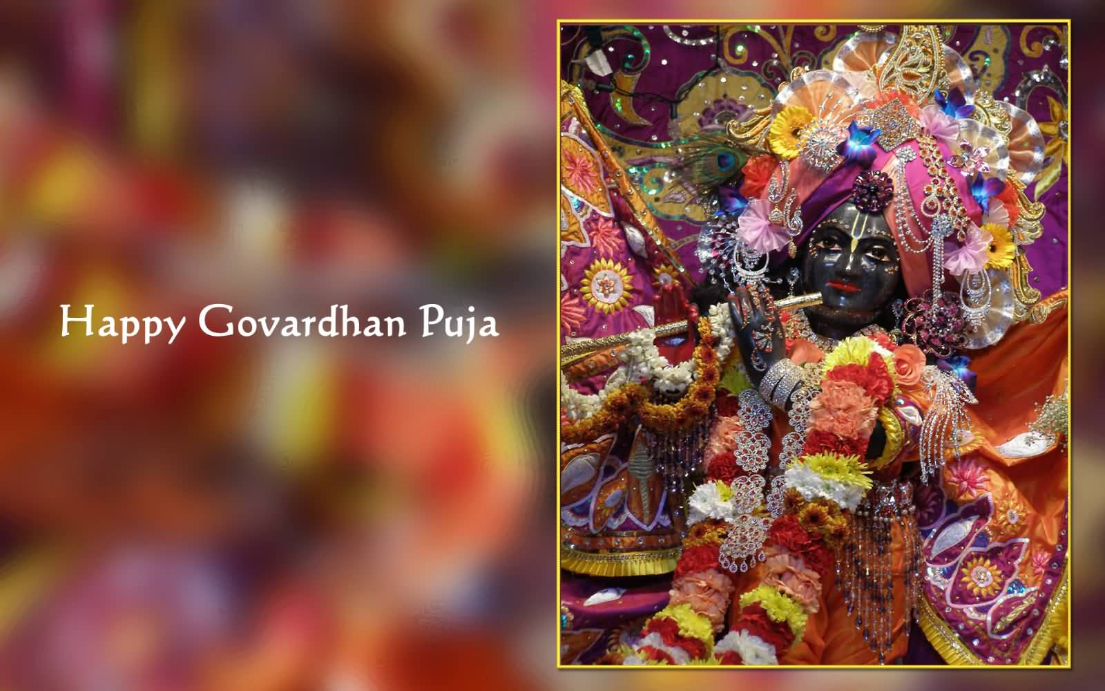 55 Beautiful Govardhan Puja Greeting Pictures And Images