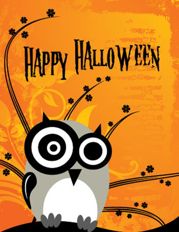Vibrant image regarding happy halloween cards printable
