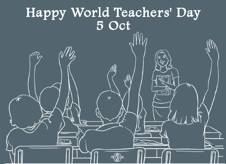 Our Teacher Asked What My Favorite Animal Was: 55+ Best World Teachers Day Wish Pictures And Photos