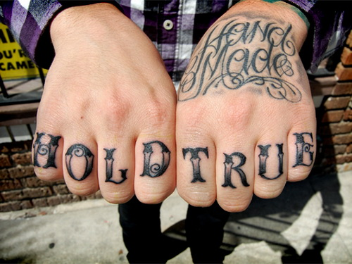 60 best knuckle tattoos for men for Knuckle tattoo font