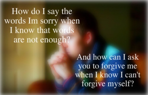 Words to say i am sorry