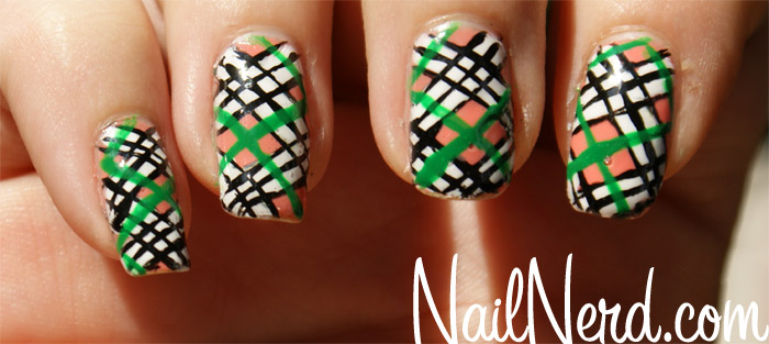 Incredible Plaid Nail Art
