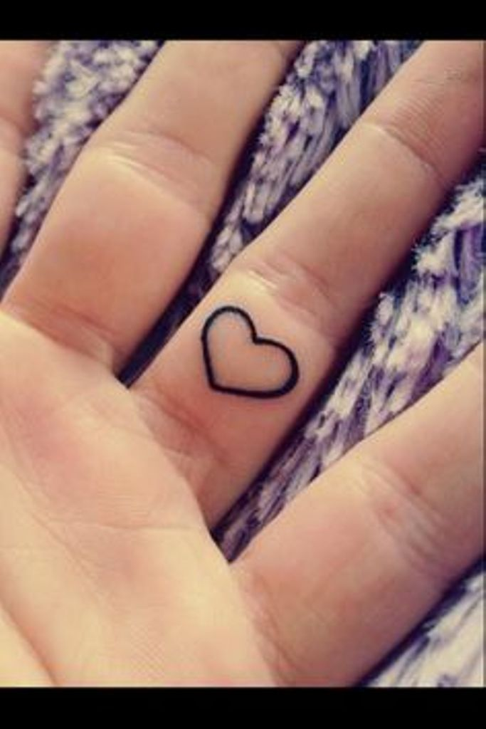 a9b6807257727 Inner Finger Heart Tattoo Picture