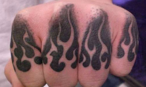 60 best knuckle tattoos for men. Black Bedroom Furniture Sets. Home Design Ideas