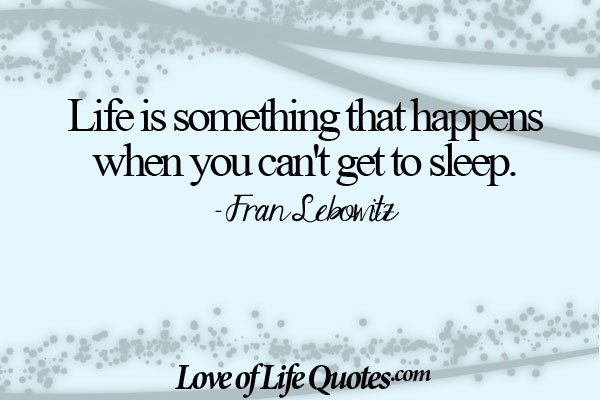 64 Best Sleep Quotes, Sayings About Sleeping