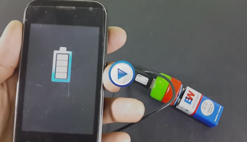 Make A Portable Mobile Phone Charger At Home