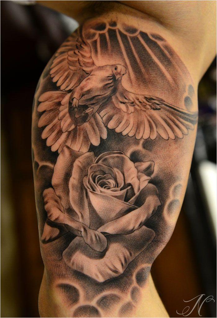 40 Dove Tattoos On Sleeve