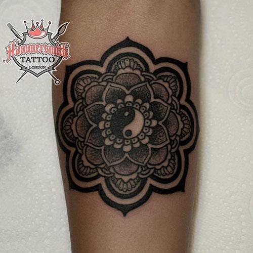 40+ Mandala Tattoos On Forearm