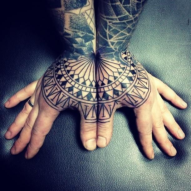 Maori Hand Tattoo: 81+ Hand Tattoos For Men