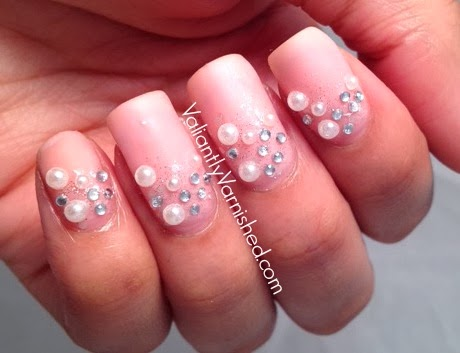 Pearls for nail art images nail art and nail design ideas pearl nail art designs gallery nail art and nail design ideas 52 most adorable pearls nail prinsesfo Image collections