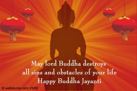 50 best buddha jayanti wishes pictures may lord buddha destroys all sins and obstacles of your life happy buddha jayanti m4hsunfo