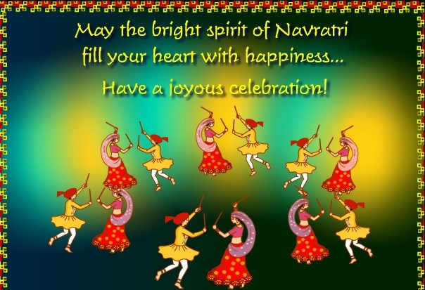 60 best navratri greeting and wish pictures may the bright spirit of navratri fill your heart with happiness have a joyous celebration m4hsunfo