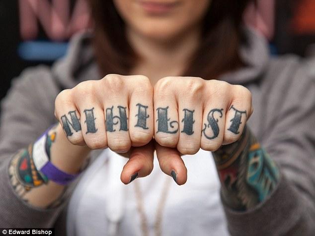 99858aae5 Nihilist Knuckle Girl Tattoo
