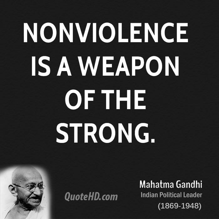 Mahatma Ghandi Uate: 63 Best Nonviolence Quotes & Sayings