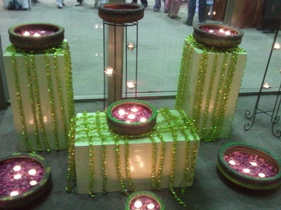 Wonderful  Ideas For Office And Home 20 Wonderful Diwali Home Decoration Ideas