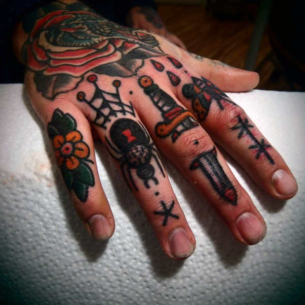 71 Latest Knuckle Tattoos Ideas