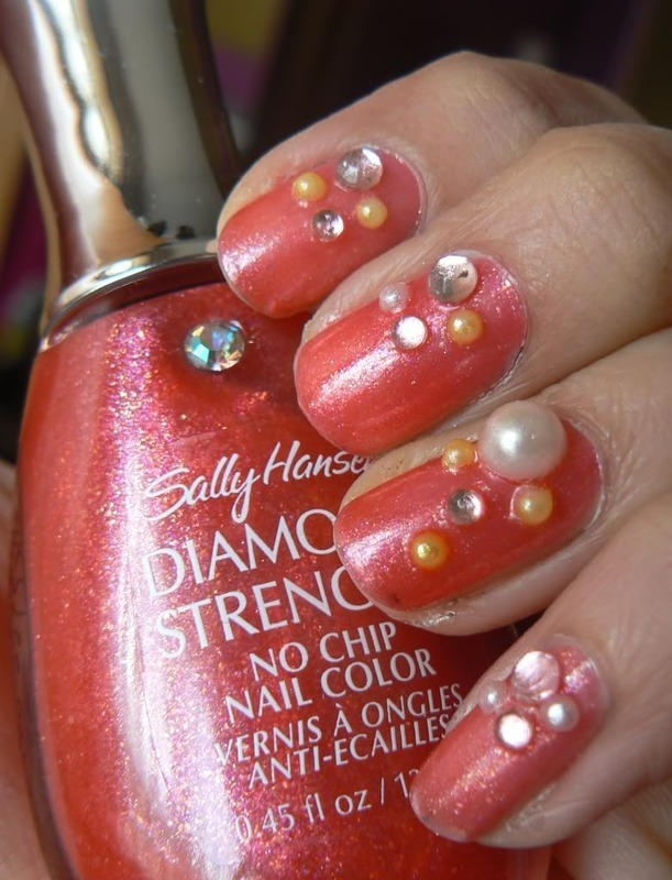 Nail Designs With Diamonds And Pearls: Diamonds and pearls nail art ...
