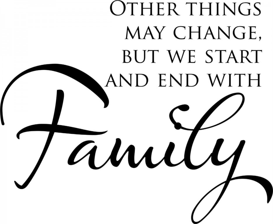 We Are Family Quotes: 60 Top Family Quotes And Sayings