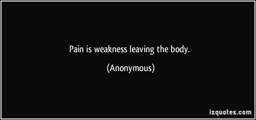 63 Top Weakness Quotes And Sayings