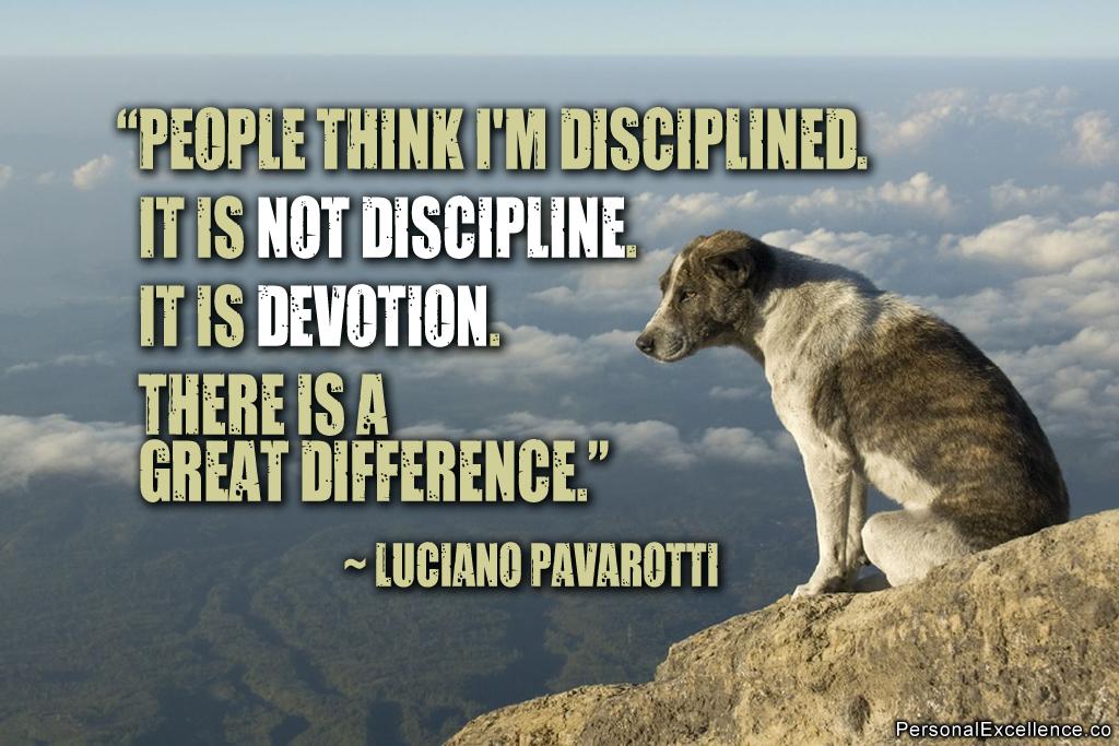 Devotion Quotes Custom 63 Best Discipline Quotes & Sayings