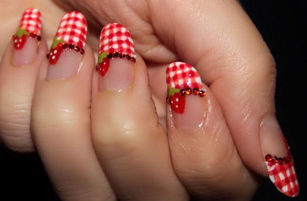 Nail designs strawberry images nail art and nail design ideas nail designs strawberry choice image nail art and nail design ideas strawberry toe nail art images prinsesfo Image collections