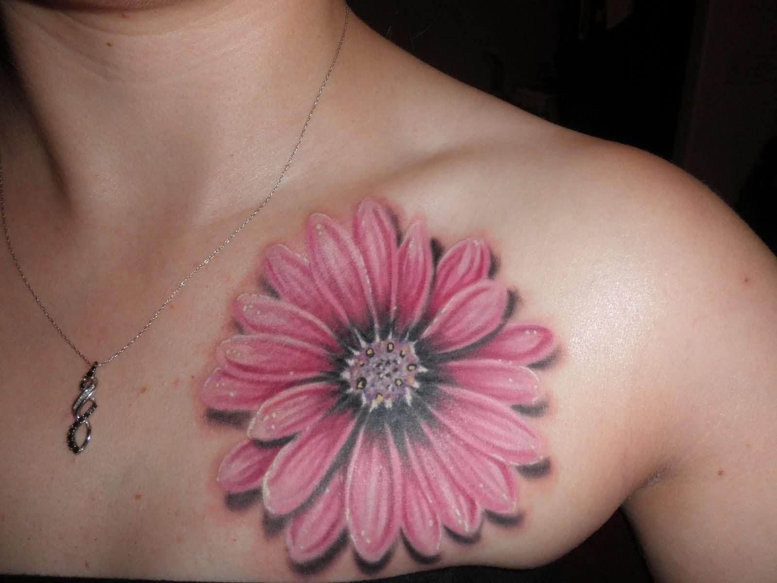 Rose And Daisy Tattoo Stencil: 50+ Latest Daisy Tattoos Ideas