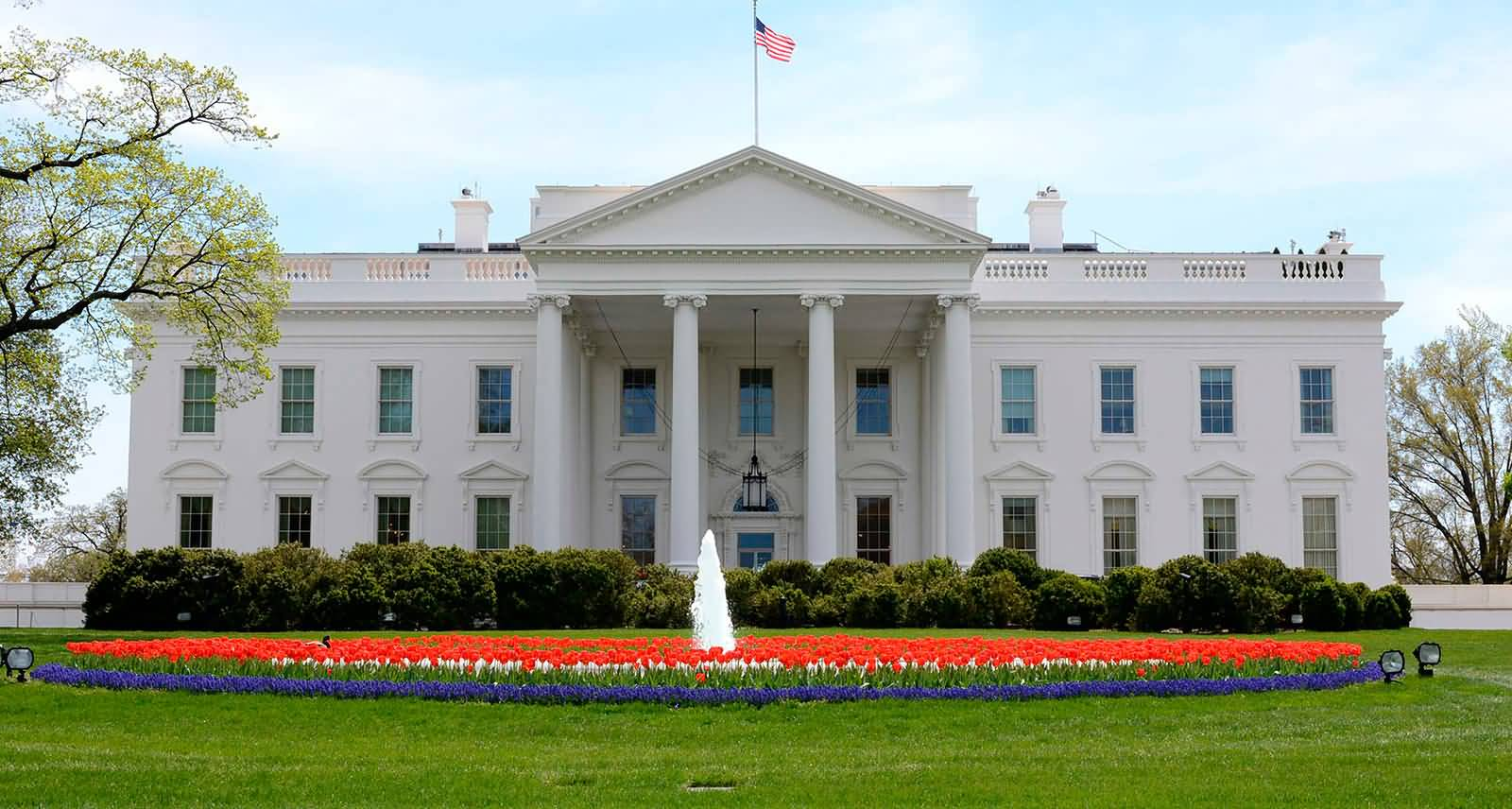 White House Front View