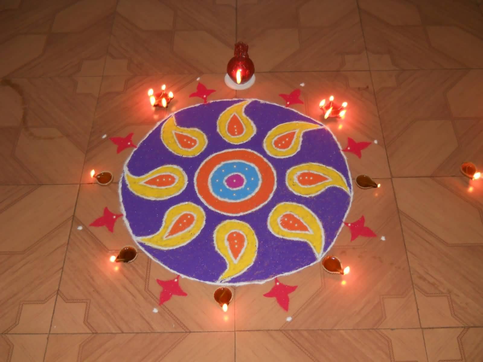 50 Best Rangoli Designs For Diwali Festivals for Flower Rangoli Designs For Diwali  565ane