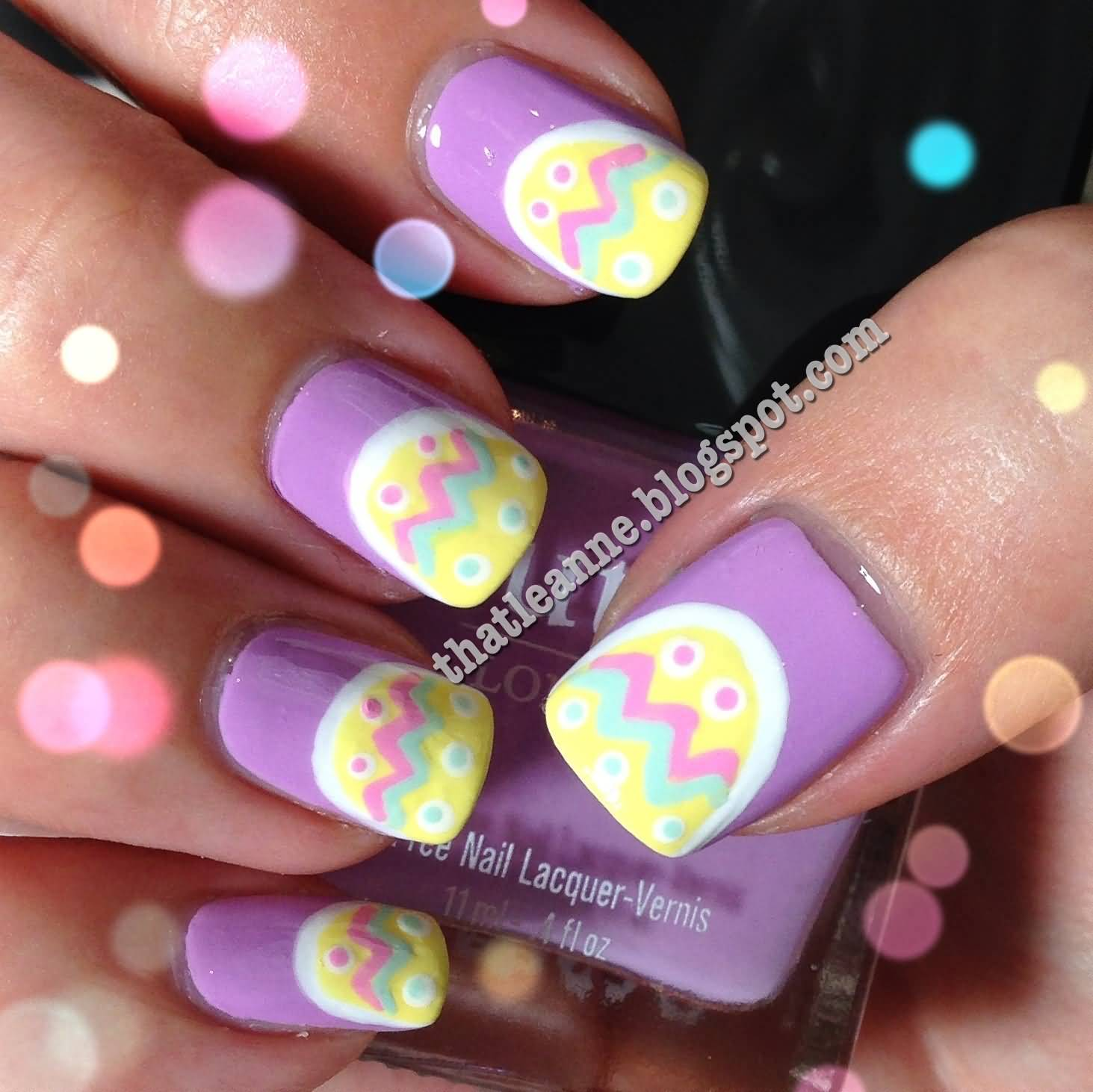 Easy Easter Nail Art: 35 Beautiful Easter Nail Art Design Ideas For Trendy Girls