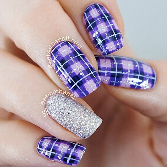 Beautiful Nail Polish To Wear With Red Dress Thin Shades Of Purple Nail Polish Square Cutest Nail Art How To Start My Own Nail Polish Line Old Foot Nails Fungus ColouredWhere To Buy Opi Gelcolor Nail Polish 60 Most Beautiful Plaid Design Nail Art Ideas For Trendy Girls