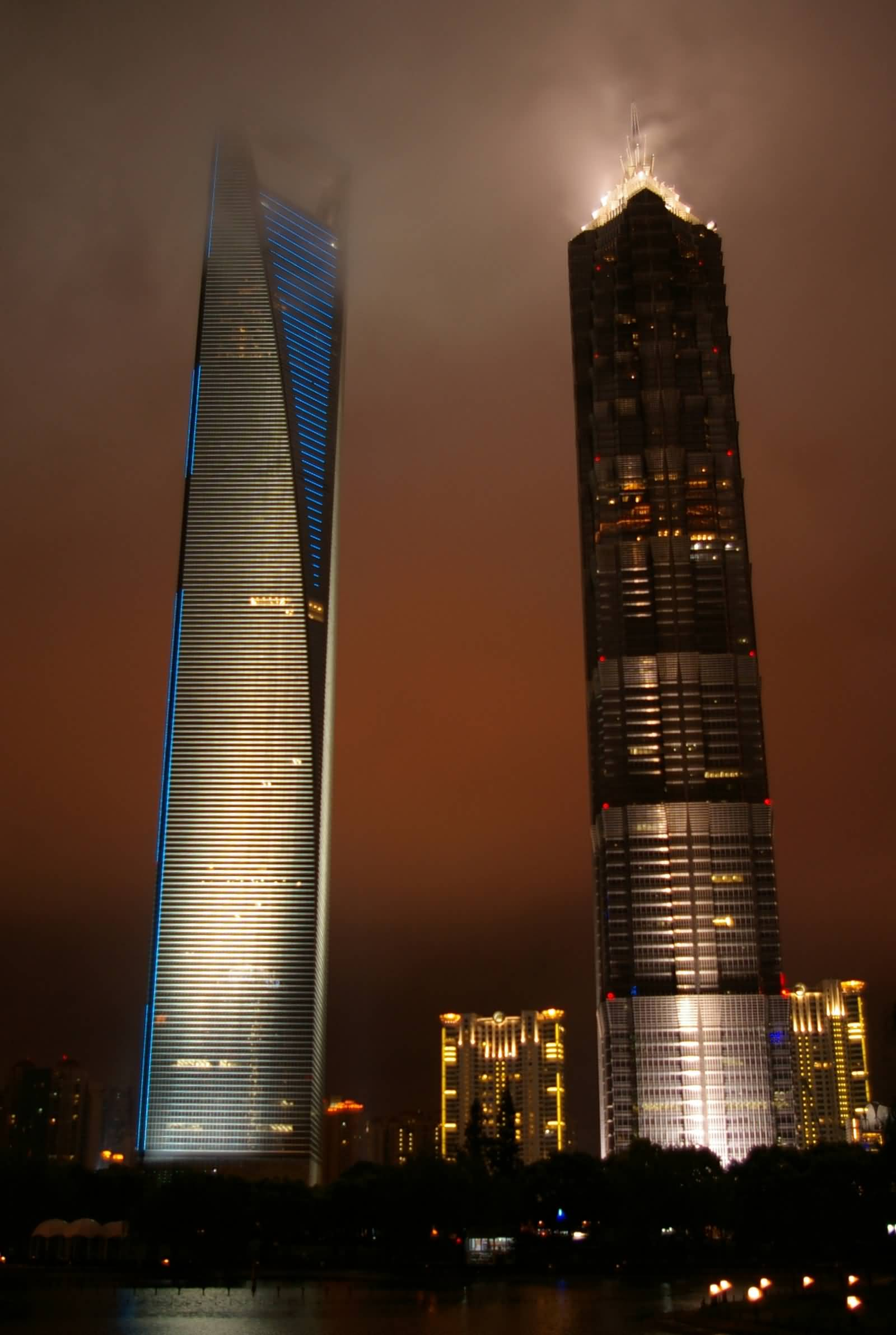 55 Incredible Jin Mao Tower Night Pictures And Photos