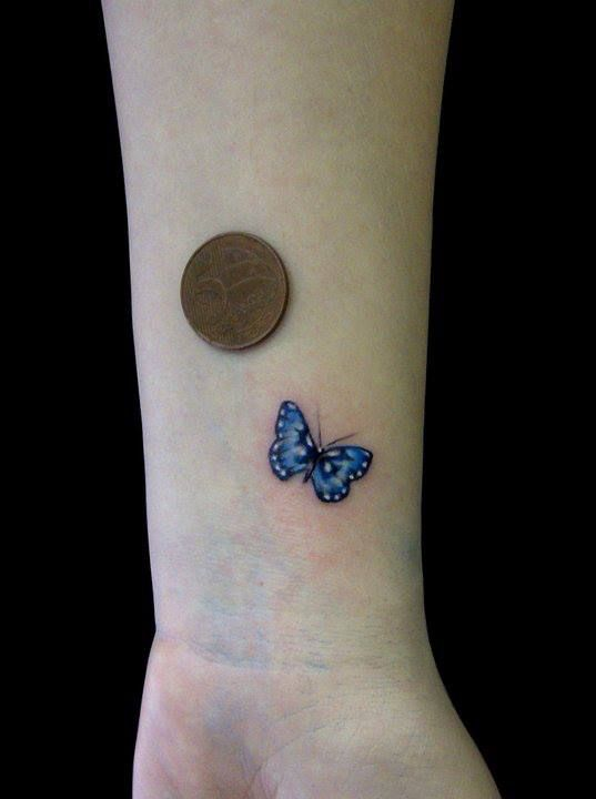 30+ Simple Butterfly Tattoos