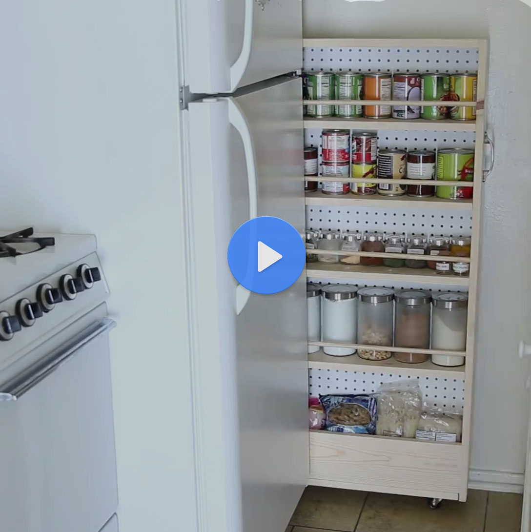Smart Solution For Kitchen With Zero Storage