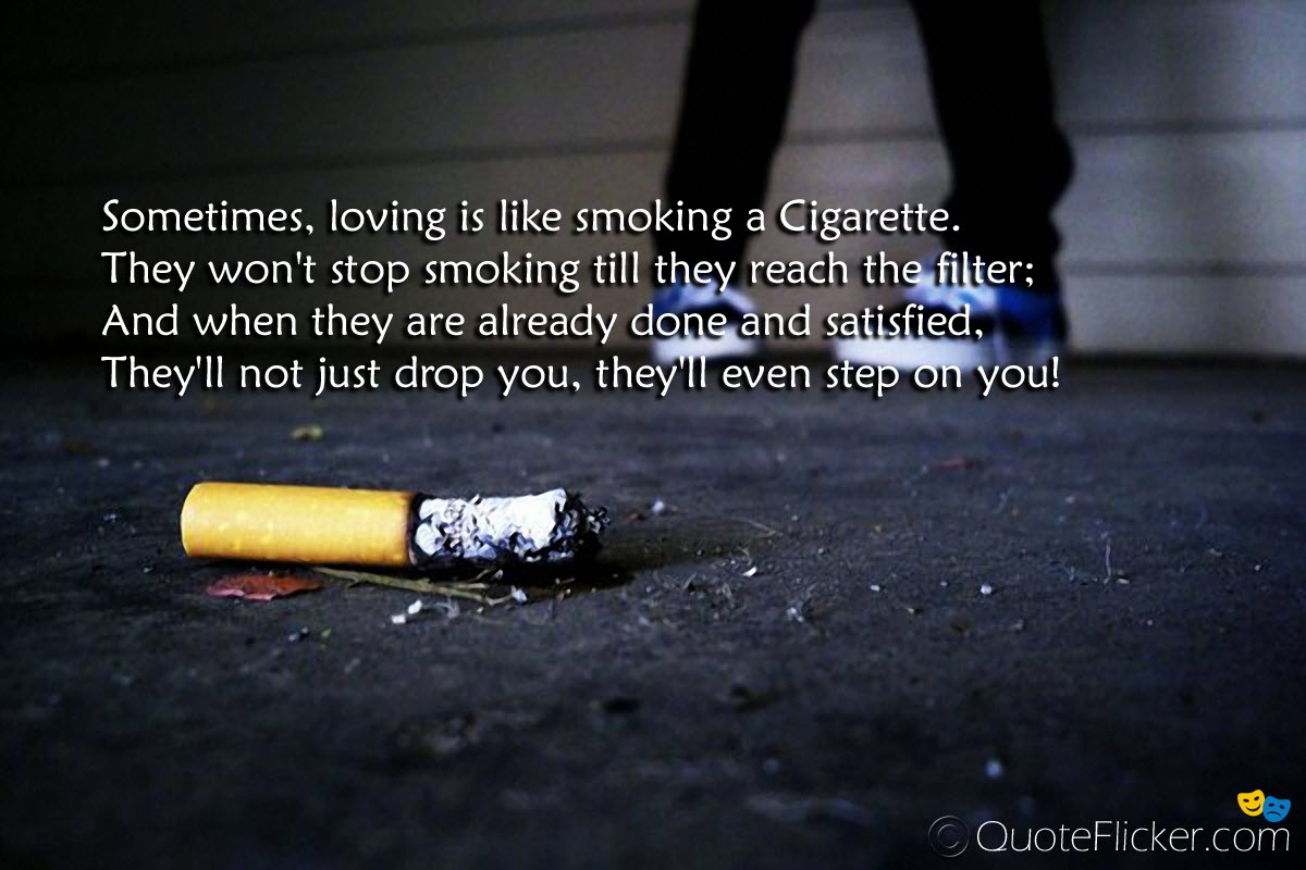 Anti Smoking Quotes Custom 60 Best Smoking Quotes & Sayings