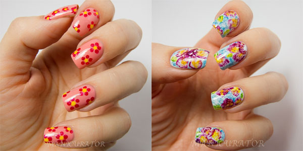 Spring Flowers Nail Art Designs - 60 Most Beautiful Spring Nail Art Designs