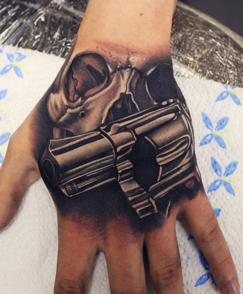 Tattoo Designs For Men Hand: 81+ Hand Tattoos For Men