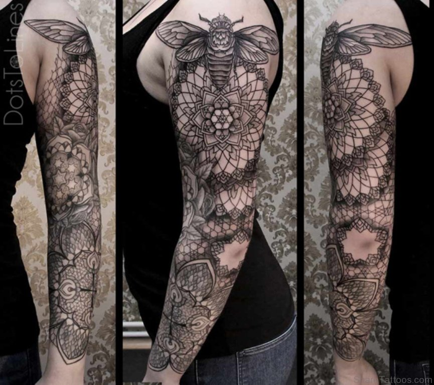 35 Full Sleeve Mandala Tattoos