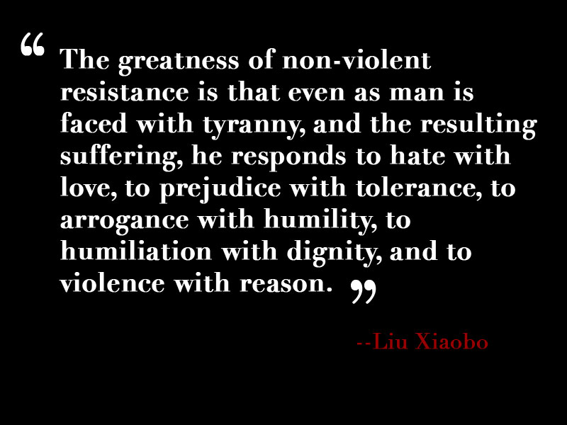 best nonviolence quotes sayings the greatness of non violent resistance is that even as man is faced tyranny