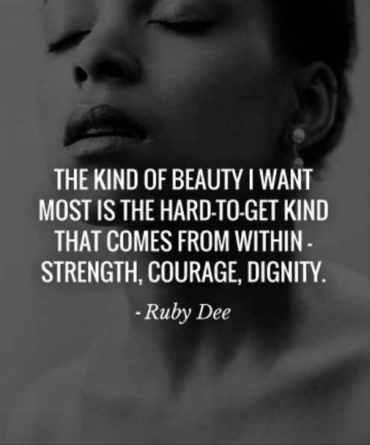 Quotes About Strength And Beauty: 60 Best Quotes And Sayings About Dignity
