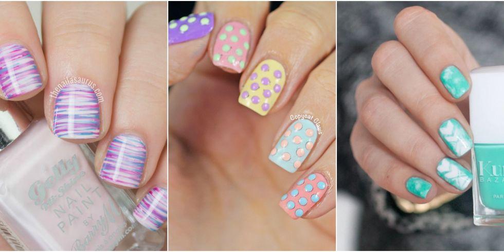 Three Beautiful Easter Nail Art Ideas