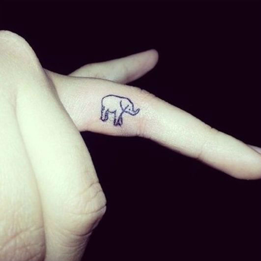 55+ Inner Finger Tattoos Ideas