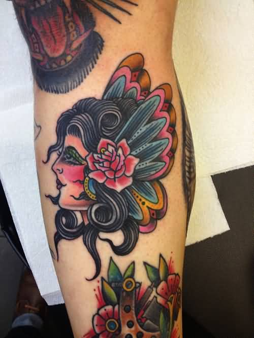Upper Arm Tattoo Ideas For Men 30+ Traditional Butter...
