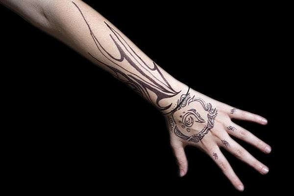 Tribal Tattoo O... Tribal Hand Tattoo Designs
