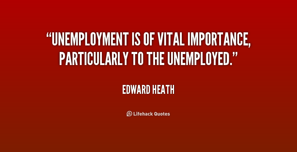 The Problem Of High Youth Unemployment