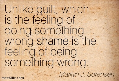 Image result for quotes on shame