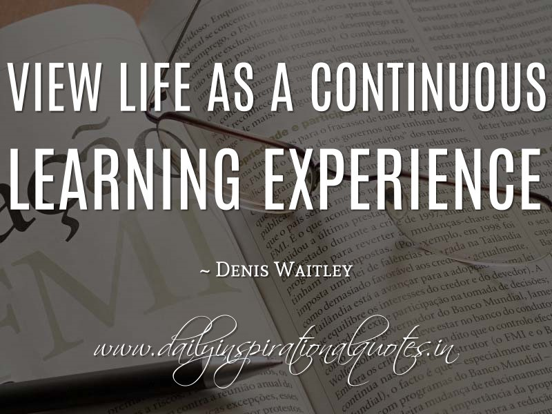 60 Best Quotes & Sayings About Experience