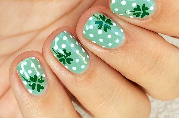 St Patty S Day Nails Best Nail Designs 2018