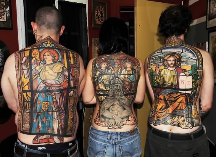 30 Christian Tattoos On Sleeve