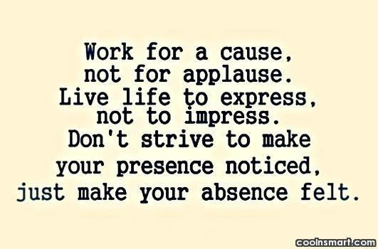 60 Top Absence Quotes Sayings