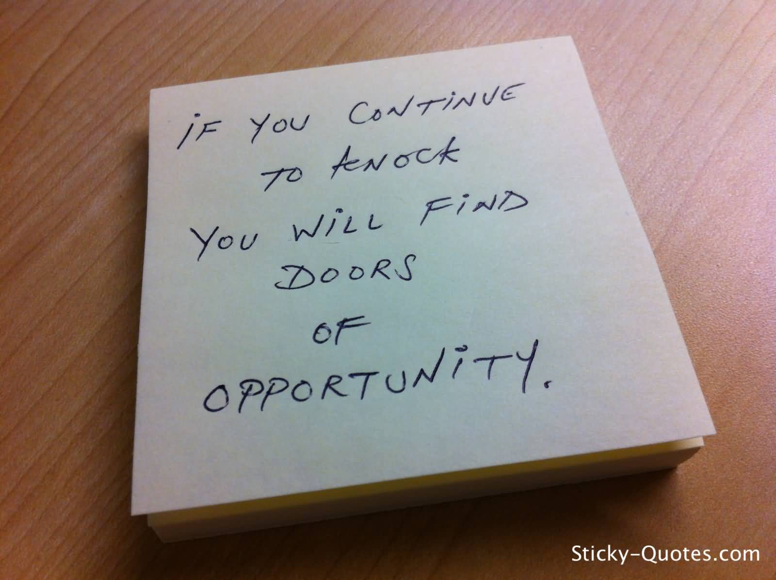 Quotes About Doors 60 Famous Opportunity Quotes And Sayings